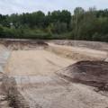 Terrassement et création de plateforme pur une station d'épuration à Ardon